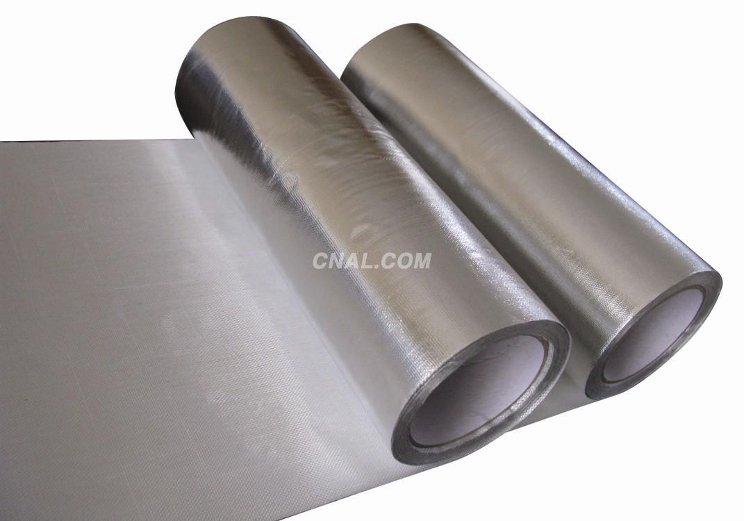 铝箔玻纤布 阻燃型-铝箔纸-产
